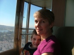 Rachel with son Nicholas